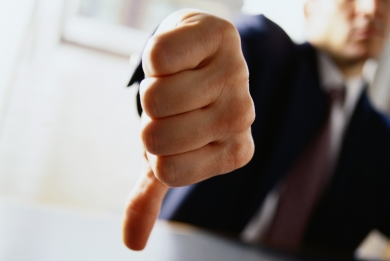 Thumbs down, incorrect tax advice